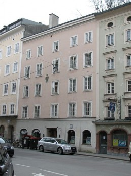 Pflegerwirtshaus Kaigasse 26 Salzburg