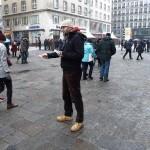 Groer Mahnmal am Stephansdom